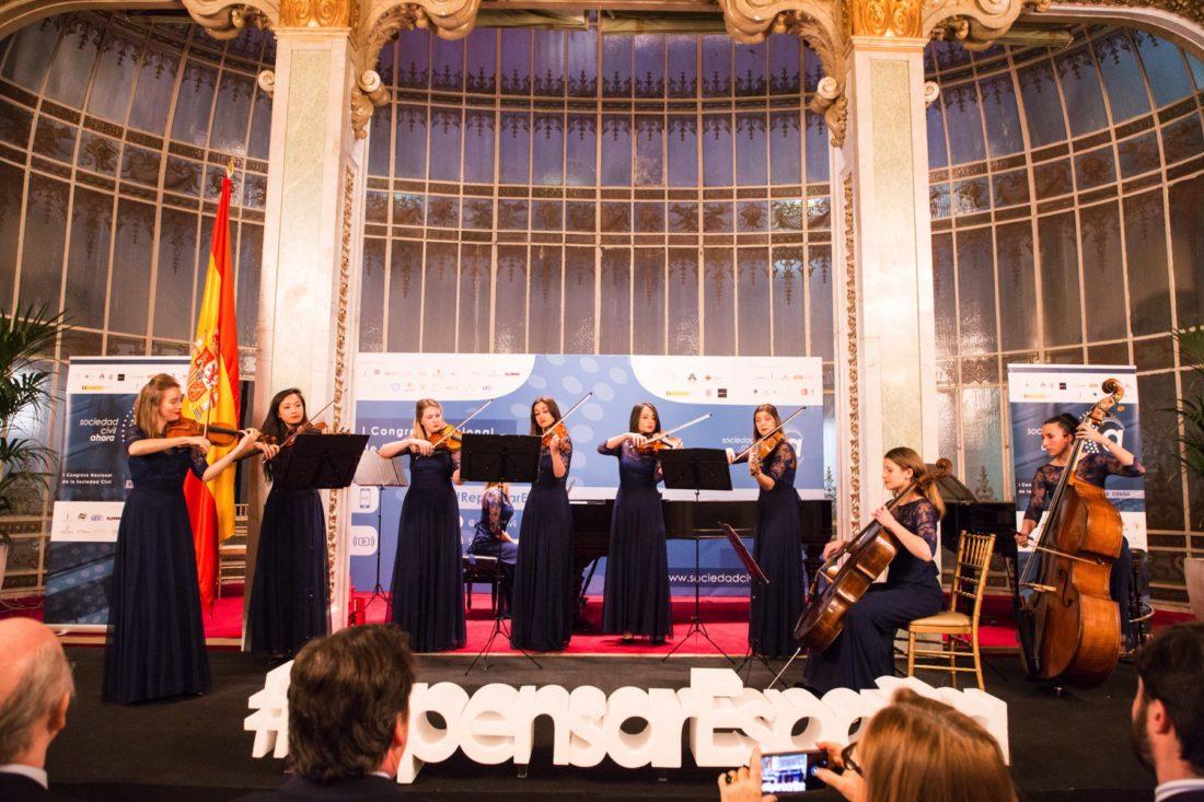 Delica Chamber Orchestra -Clausura I Congreso Nacional de la Sociedad Civil