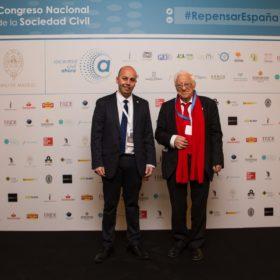 Sergio Mella y Padre Ángel García